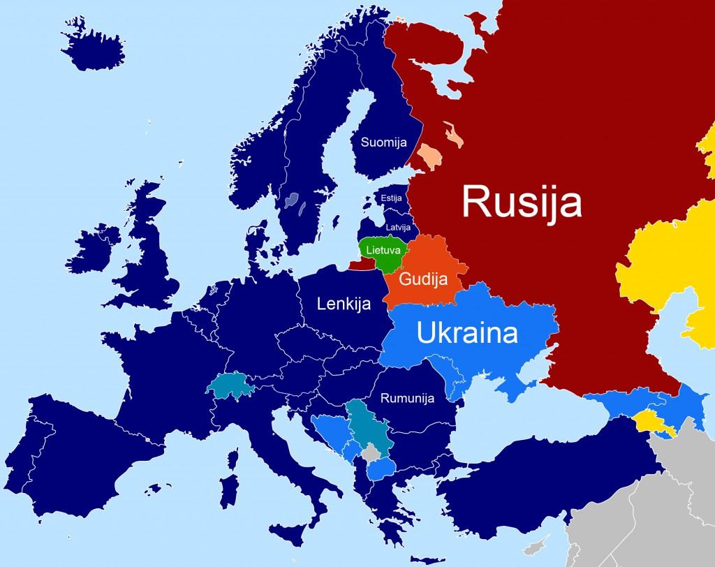 Ukrainos prisijungimas prie ES ir NATO susilpnina Rusijos įtaką kardinaliai.